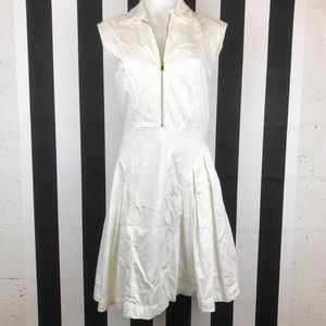 5 for $25 Marvin Richards Pleated Half Zip Dress